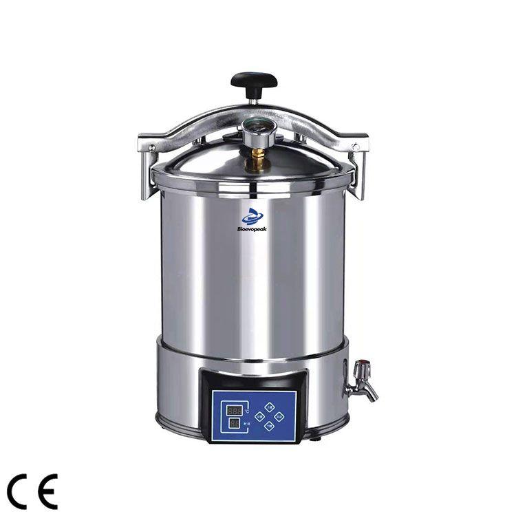 Portable Pressure Steam Sterilizer, Automatic microcomputer type, STP-A Series 01