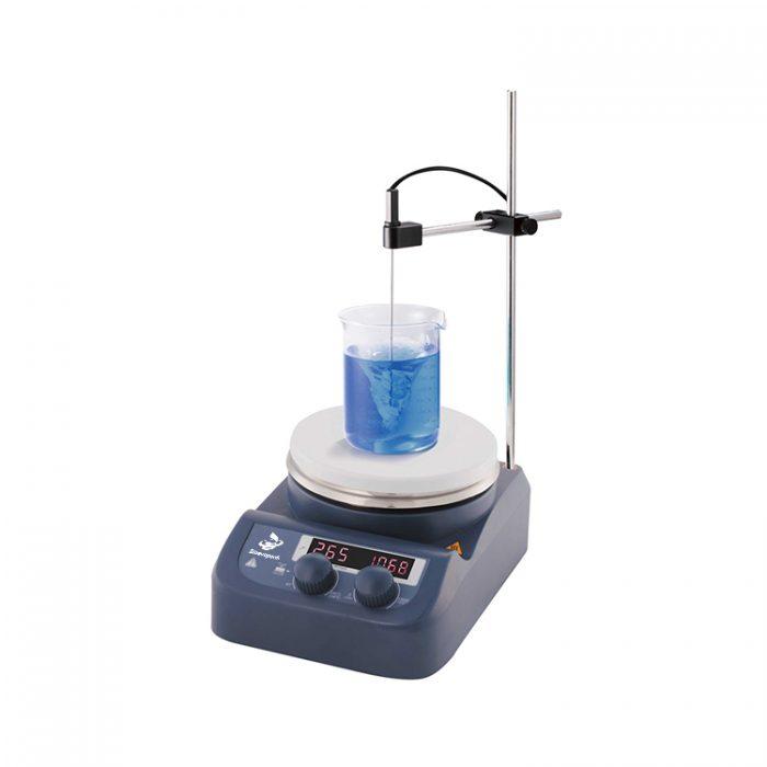 LED Digital Hotplate Magnetic Stirrer
