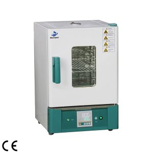 Forced Air Drying Oven with Stainless steel in laboratory