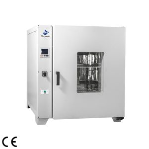 Forced air drying oven with LCD digital screen in Laboratory