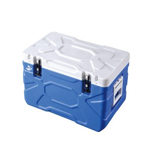 High Quality Laboratory 55L Medical Cooler Box with 6 Ice Packs