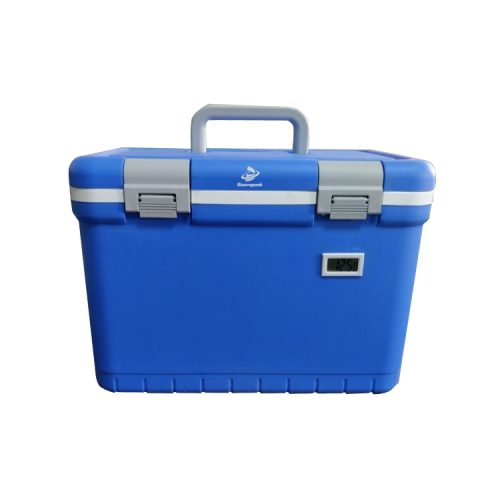 Laboratory 12L Medical Cooler Box with 4 Ice Packs