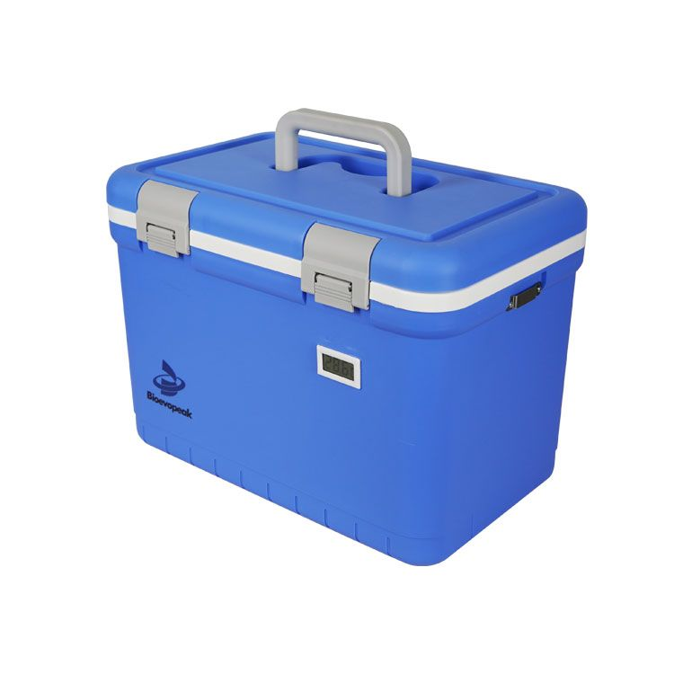 Medical Cooler Box with 4 Ice Packs, CLR-12