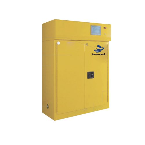 Net gas type safety cabinet