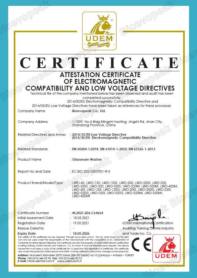 Glassware CE Verification 01