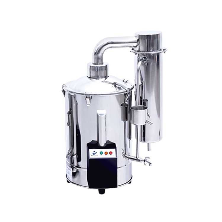 Stainless Steel Distilled Water Device, Water Control Type, WDST-20